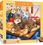 MasterPieces Cat-O-Logy Wilberforce Jigsaw Puzzle, Art by Geoffrey Tristram, 1000-Piece