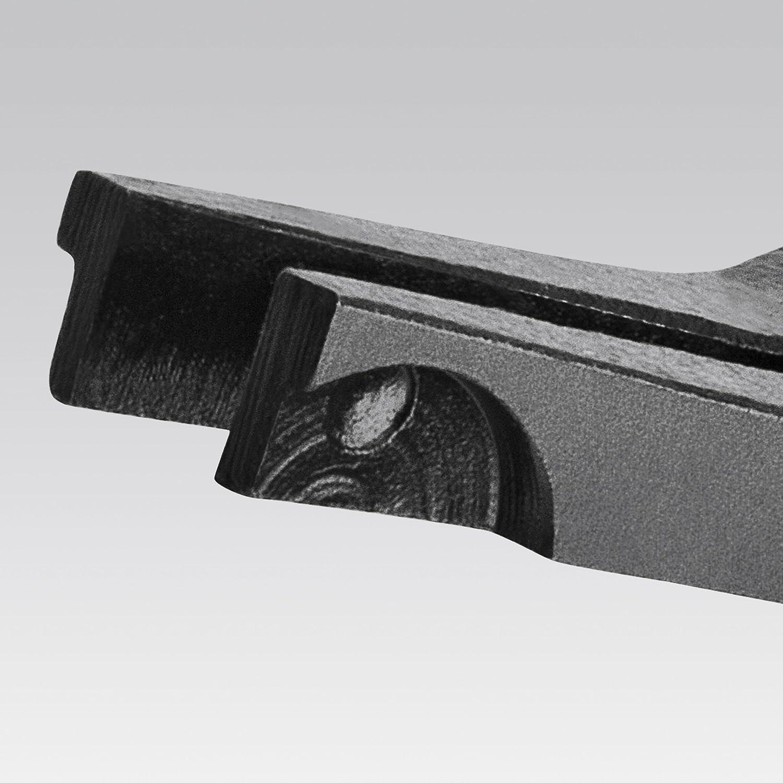 KNIPEX 45 21 200 Pince de montage pour rondelles ressort darbre brunie gain/ées en plastique 200 mm