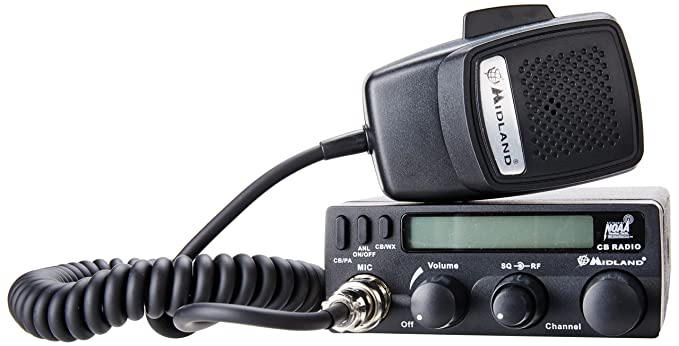 Amazon.com: Midland 1001LWX 40 Channel Mobile CB with ANL, RF Gain ...