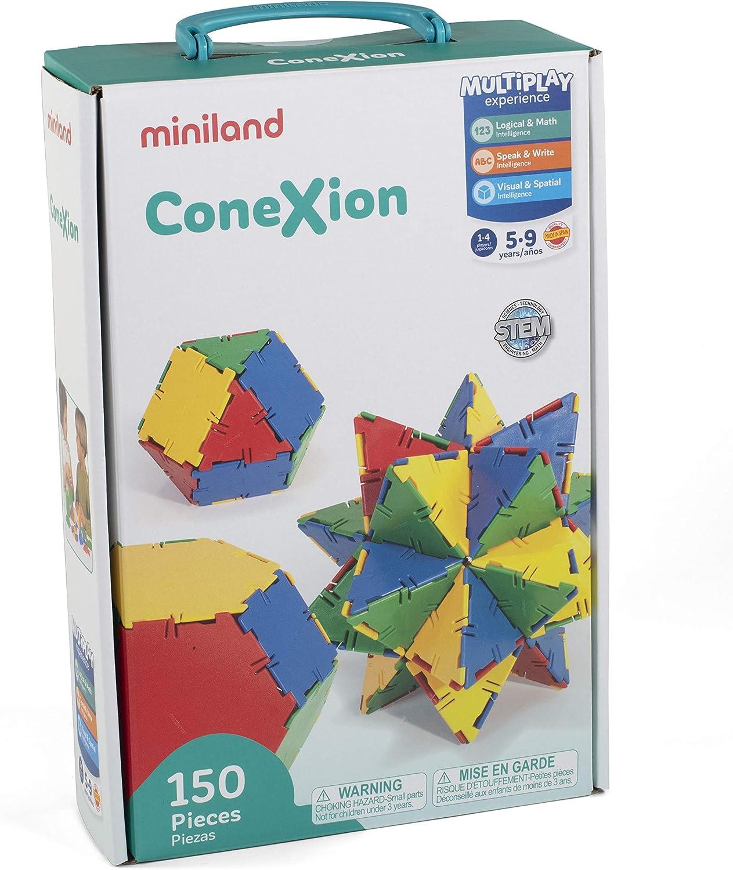 150-piece set Miniland Conexion