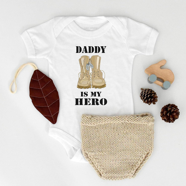 My Hero Wears A Badge Onesies\u00ae Bodysuit Baby Shower Gift Police Onesie Dad Gift Bodysuit Baby Boy Bodysuit Baby Police Bodysuit