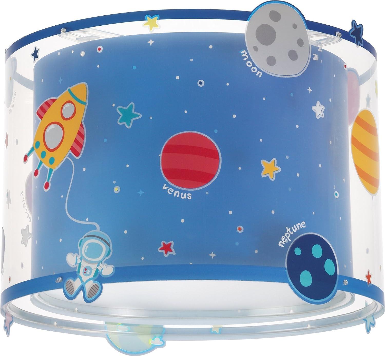 Dalber planets Decken Wandlampe Plastik E27, 1 W, Mehrfarbig 33 x 33 x 25 cm