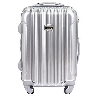 "kensie 20"" ""Alma"" Carry-On TSA-Lock Spinner Luggage"