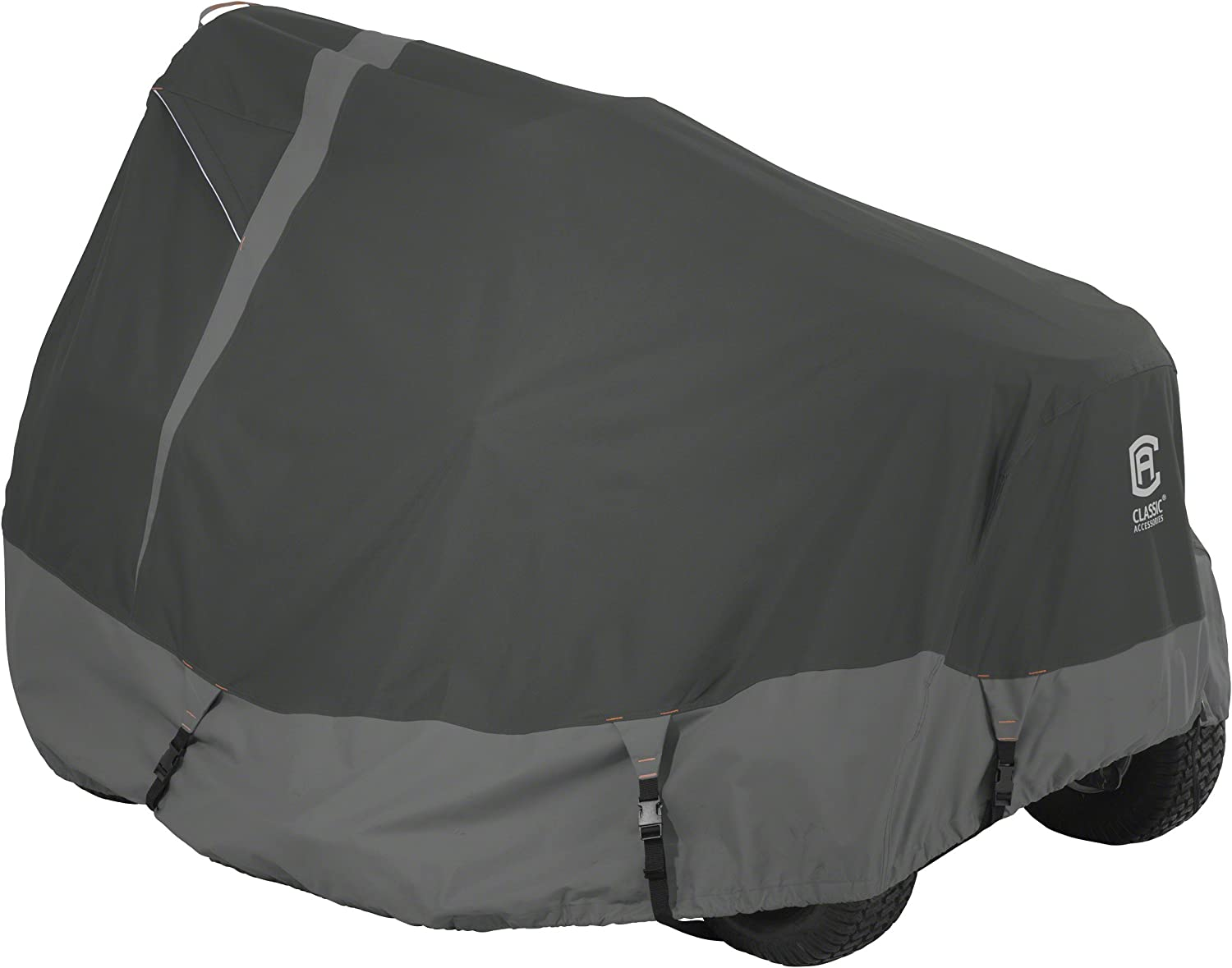 "Classic Accessories Heavy Duty Lawn Tractor Cover, Up to 62"" Decks"