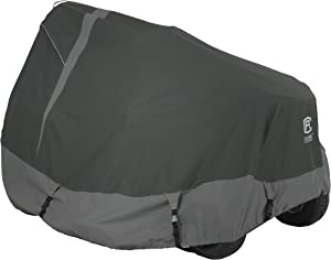 Classic Accessories StormPro Waterproof Heavy-Duty Lawn Tractor Cover, Fits tractors with decks up to 54 in