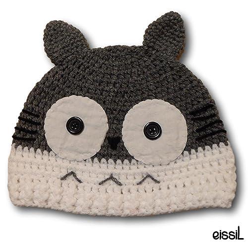 Totoro Crochet Hat  Amazon.co.uk  Handmade fe55199eebb