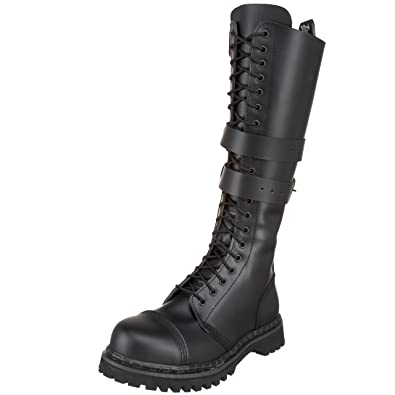 Amazon.com | Demonia by Pleaser Men\'s Predator 1 Lace-Up Boot ...