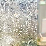 Amazon Price History for:Rabbitgoo 3D Window Films Privacy Film Static Decorative Film Non-Adhesive Heat Control Anti UV 17.7In. By 78.7In. (45 x 200Cm)