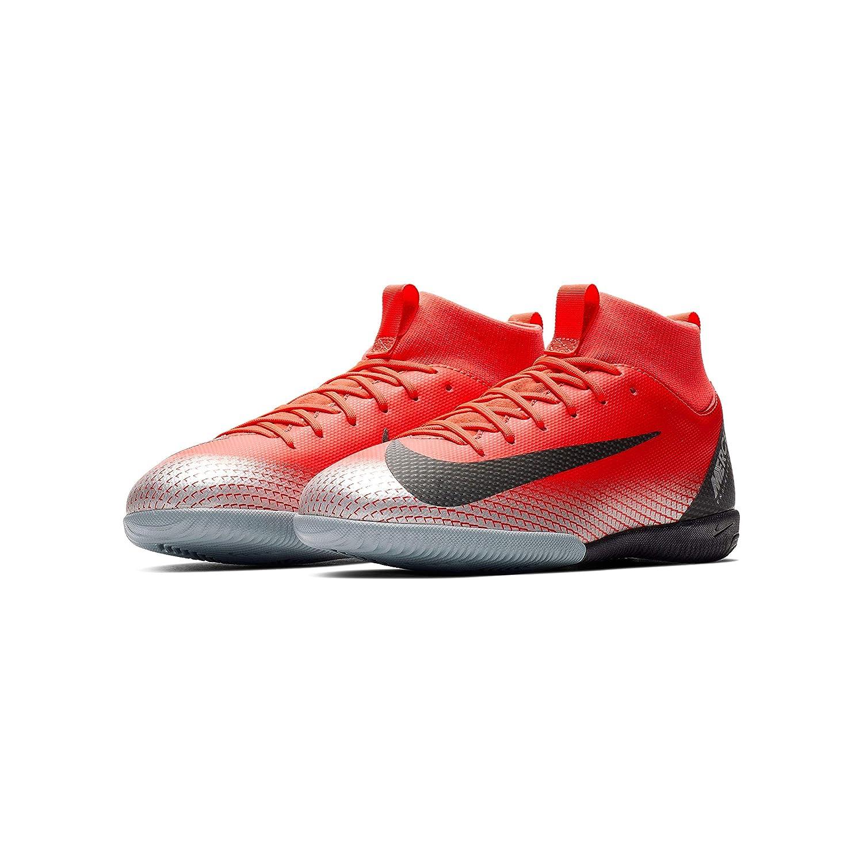 Nike Jr Sprfly 6 Academy Gs Cr7 Ic - Bright Crimson schwarz-Chrome-da