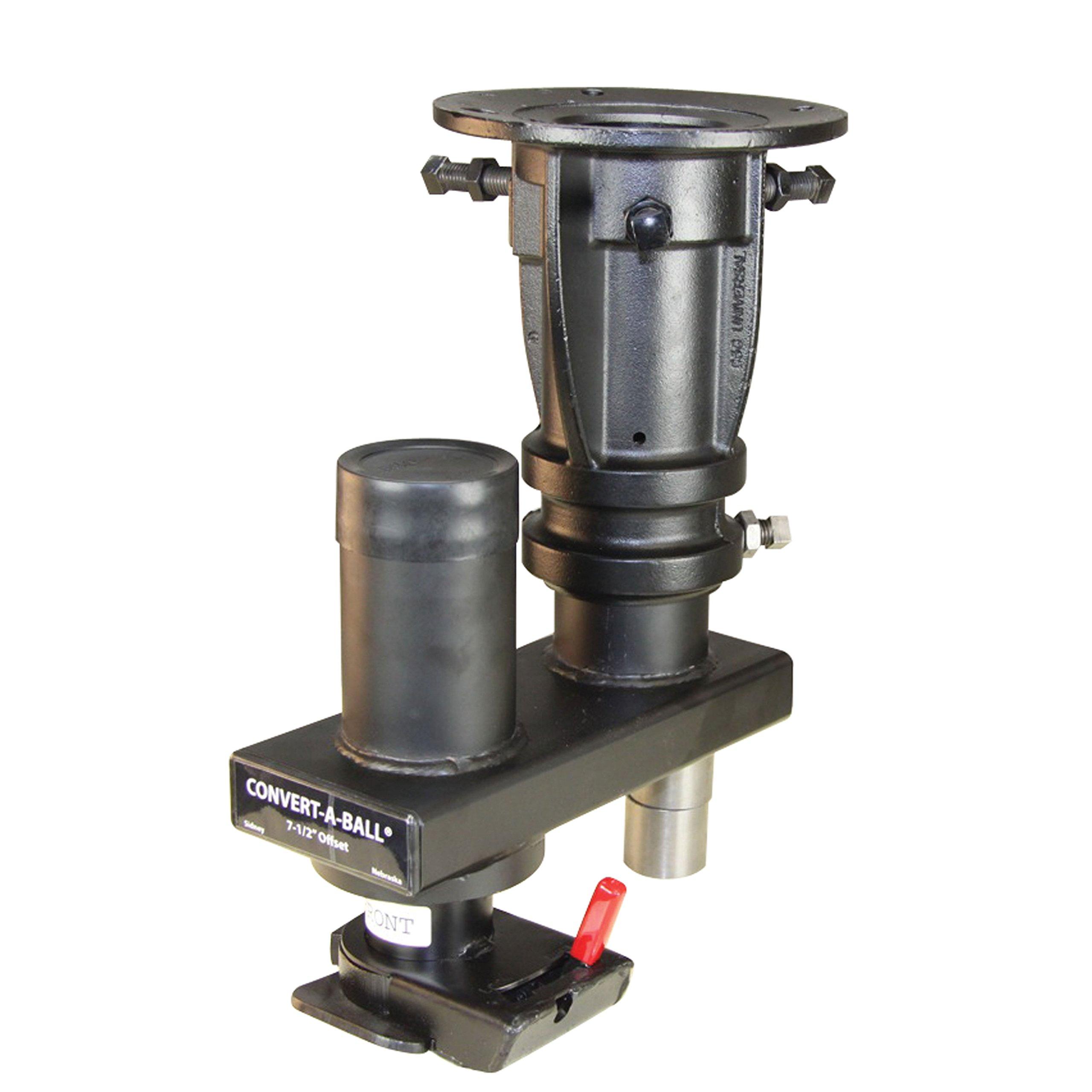 Convert-A-Ball C5GX1216 Adjustable 5th Wheel/Gooseneck Offset Adapter