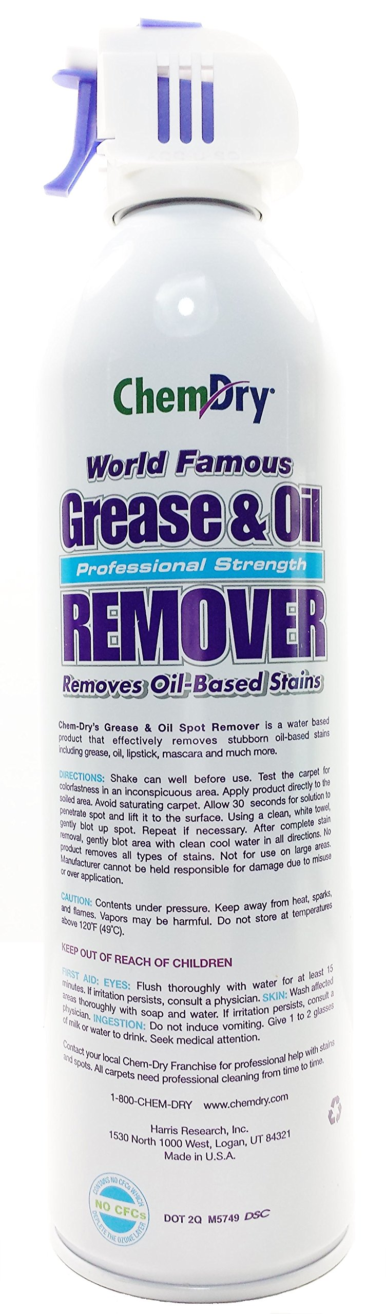 Chem-Dry Professional Strength Grease & Oil Remover 18 oz