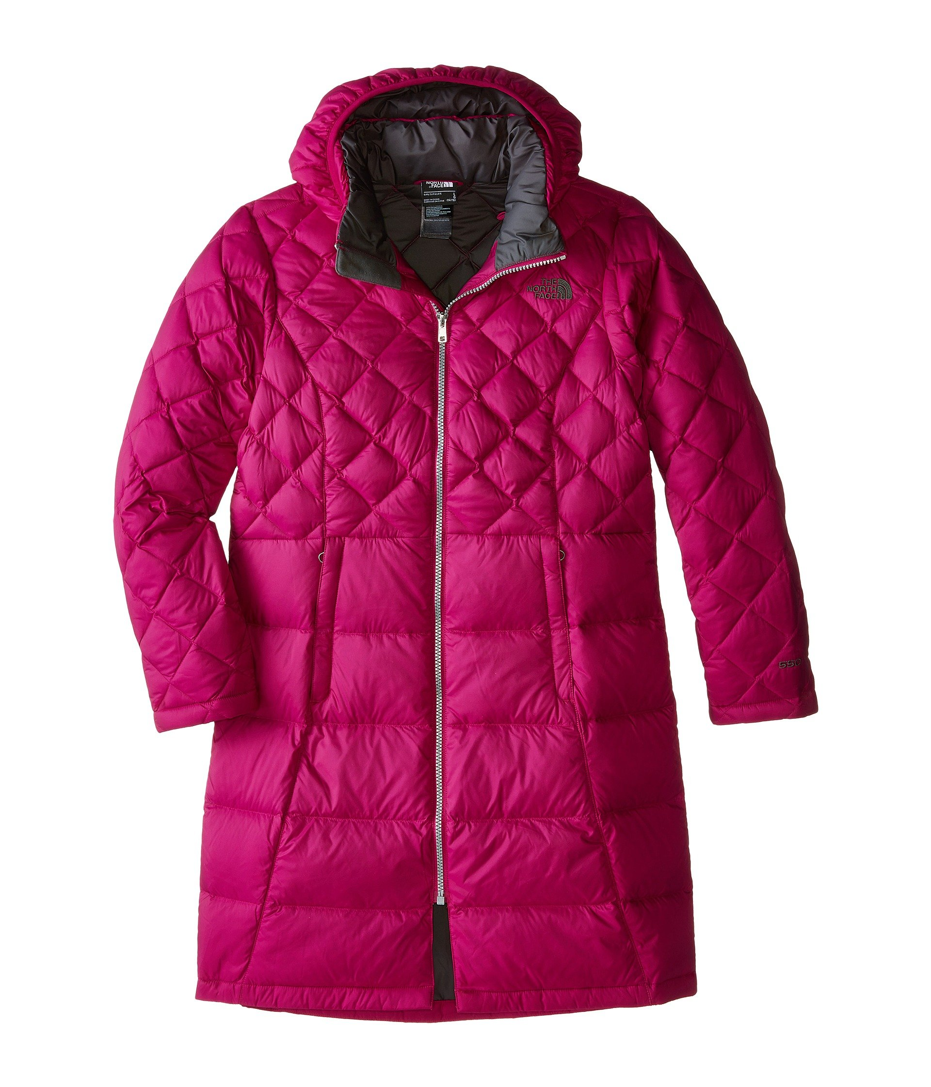 The North Face Kids Girl's Metropolis Down Jacket (Little Kids/Big Kids) Dramatic Plum LG (14-16 Big Kids) by The North Face