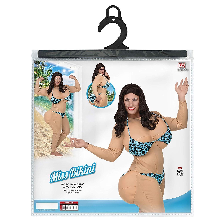 2fd5e7b5171c WIDMANN 75814 adultos Disfraz Miss Bikini, hombre, color beige/crema ...