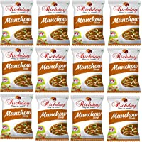 Richday Manchow Soup [Combo of 12 Packets contains 15 gms each]