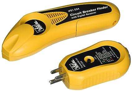 Ideal 61 534 Digital Circuit Breaker Finder With Digital Receiver