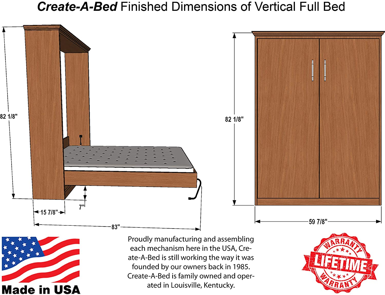 Amazon.com: Kit de cama de Murphy de tamaño completo ...