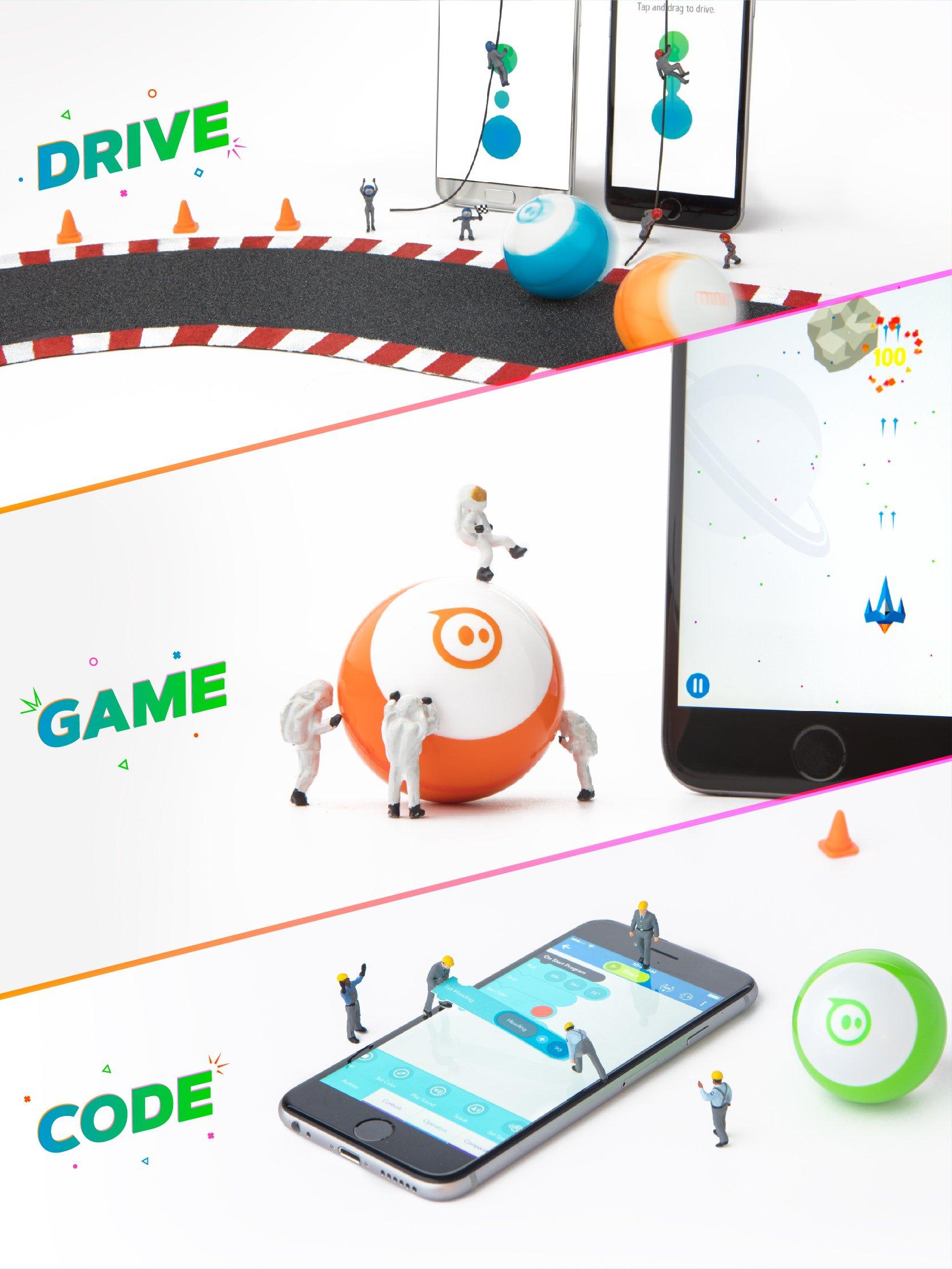 Sphero Mini Black: The App-Controlled Robot Ball (Amazon Exclusive) by Sphero (Image #5)