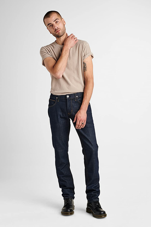 Hudson Jeans Mens Blake Slim Straight Zip Fly Jeans
