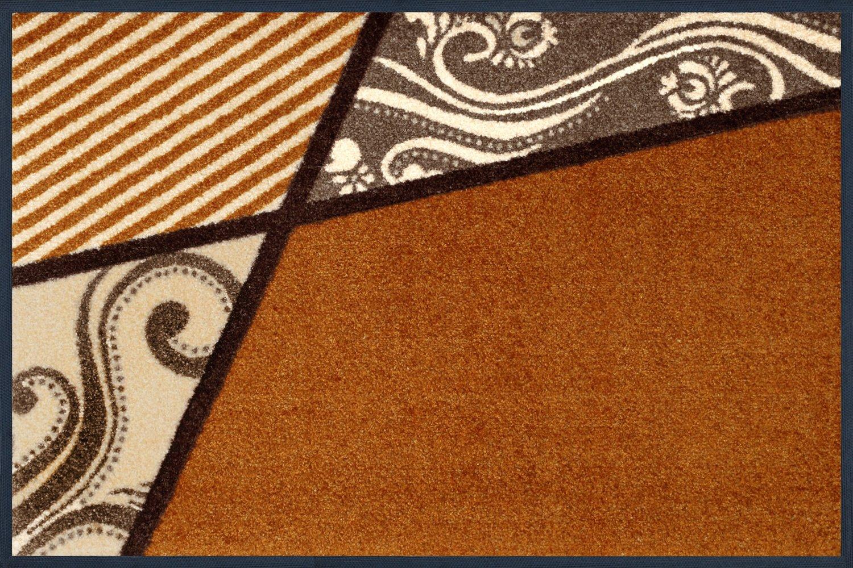 Wash + dry 030874 Fußmatte Belgo 50 50 50 x 75 cm, bräunlich B005NW49DO Fumatten 58aef1