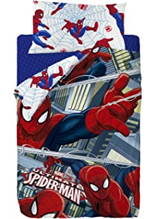 Marvel Spiderman Saco nórdico Algodón-Poliéster, Cama 80/95 (Twin),