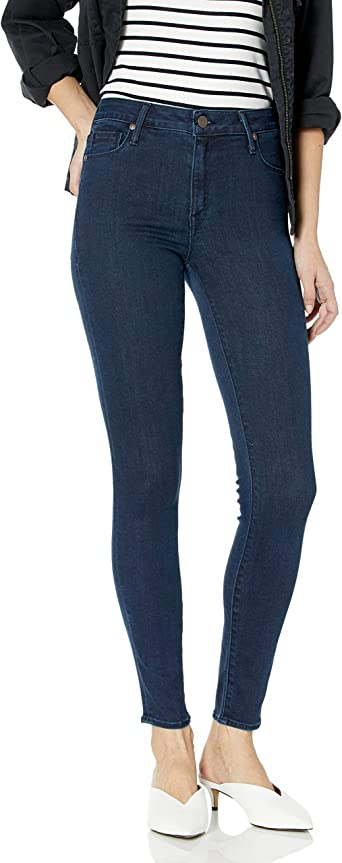 Parker Smith Womens Bombshell High Rise Skinny Sea Cliff