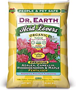 Dr. Earth Acid Lovers Azalea, Camellia, Rhododendron & Maple Fertilier 12 lb.