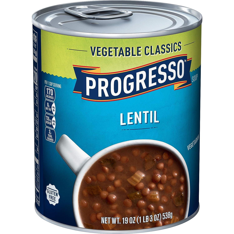 Progresso Soup Vegetable Classics, Lentil, 19 oz