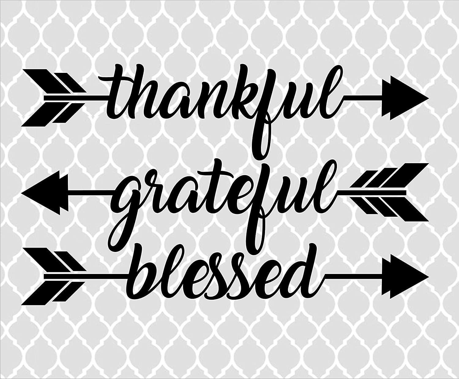Thankful Grateful Blessed Arrows Svg Autum Svg Cutting File Svg Png Dxf Eps Thanksgiving Svg Digital Download Amazon Co Uk Diy Tools