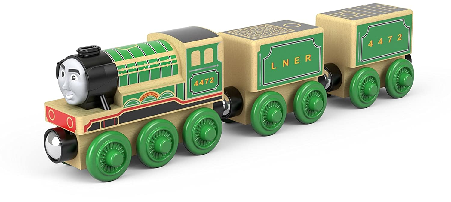 Thomas Friends Ftg72 Fisher Price Wood Flying Scotsman Vehicle Toy