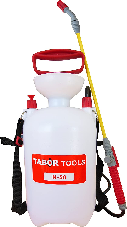 TABOR TOOLS 1.3 Gallon Garden Sprayer with Shoulder Strap