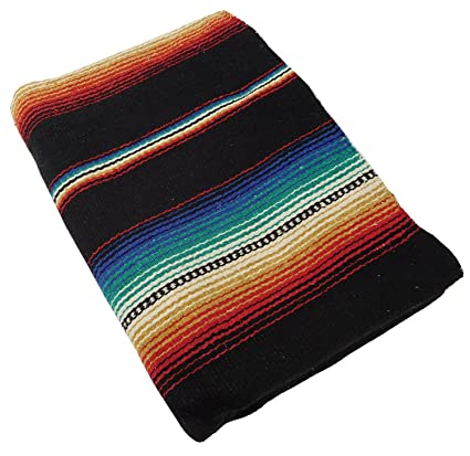 Amazon.com: #776 Classic Sarape Mexico Falsa Throw Blanket ...