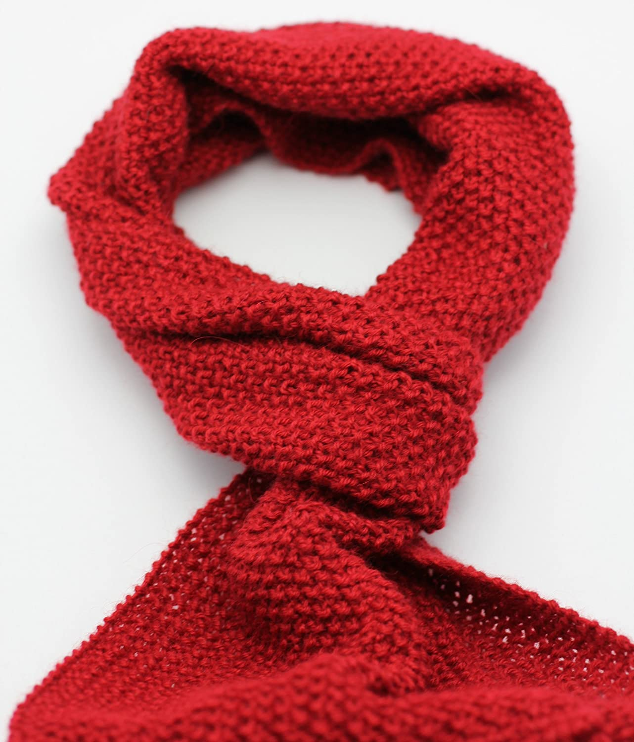 Knitted by Artisan PURE ALPACA Scarf MADE TO ORDER IN ANY COLOR