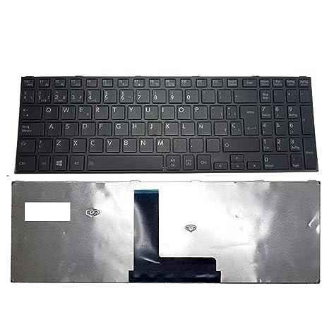 Replacement Compatible Spanish Keyboard Toshiba Satellite R50 C50 R50-B C50-B C50D-