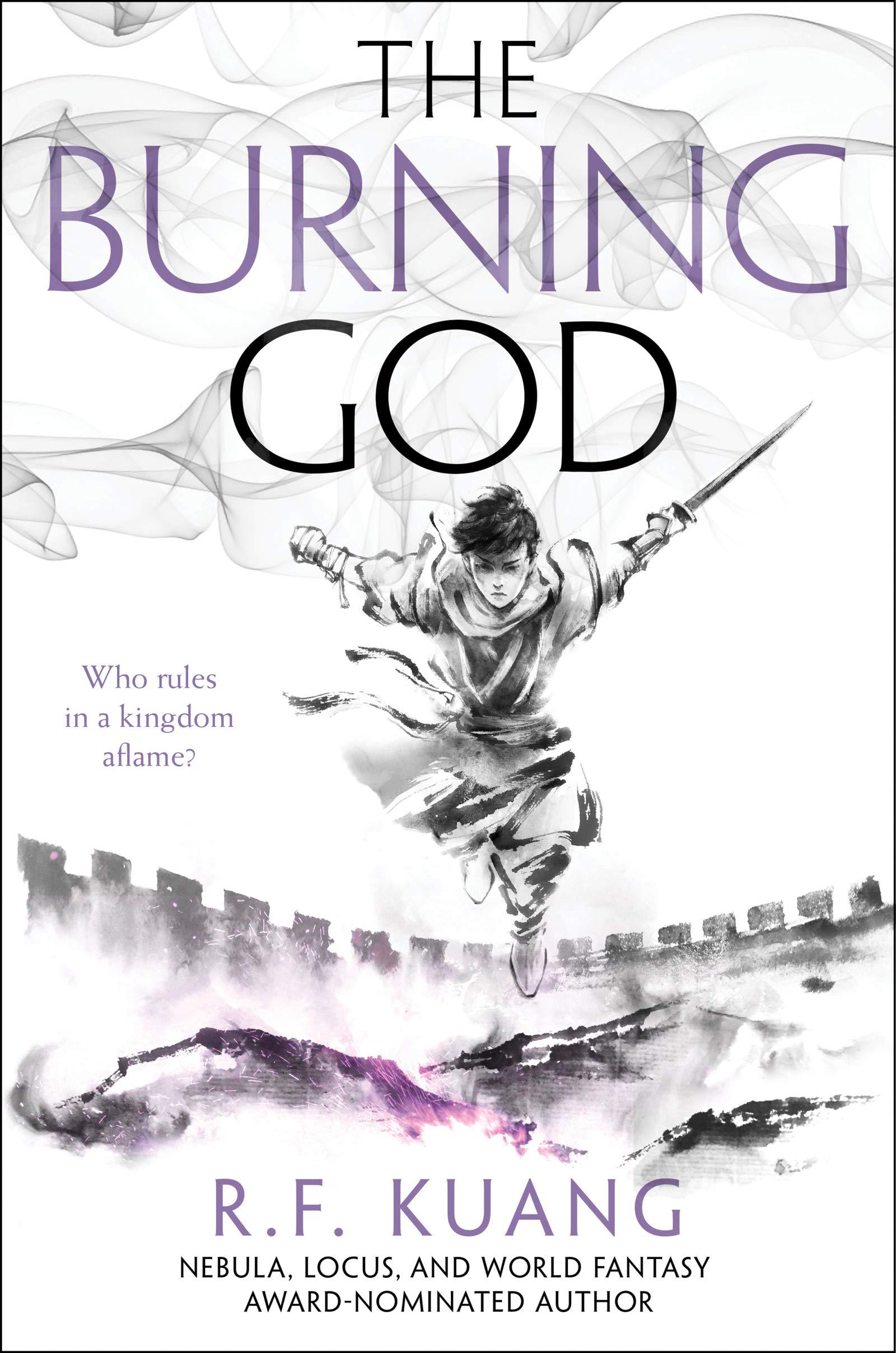 Image result for the burning god