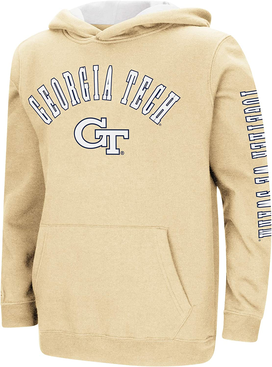 Colosseum Youth Pittsburgh Panthers Poly Pull-Over Hoodie