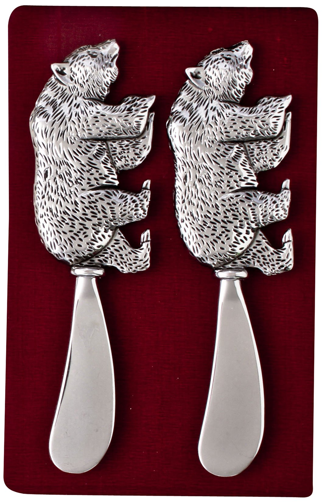 Thirstystone N166 Cheese Spreaders, Bear