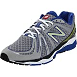 New Balance Men's M890B2 Running Shoe,Silver/Blue,11 2E US