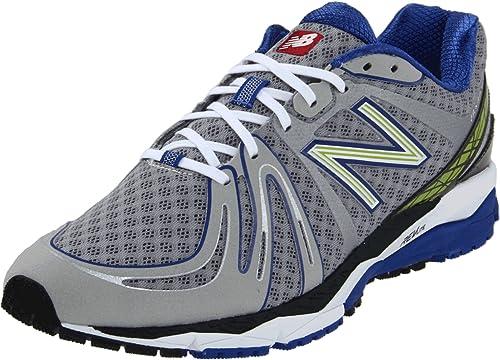 Delegar Polinizador cuenta  Amazon.com | New Balance Men's M890B2 Running Shoe, Silver/Blue ...