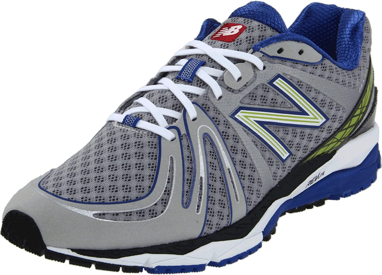 New Balance Men's M890B2 Running Shoe,SilverBlue,11 2E US