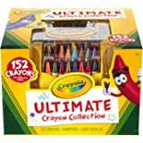 Crayola Ultimate Crayon Collection Art Set Gift, 2 Packages (152 Pieces)