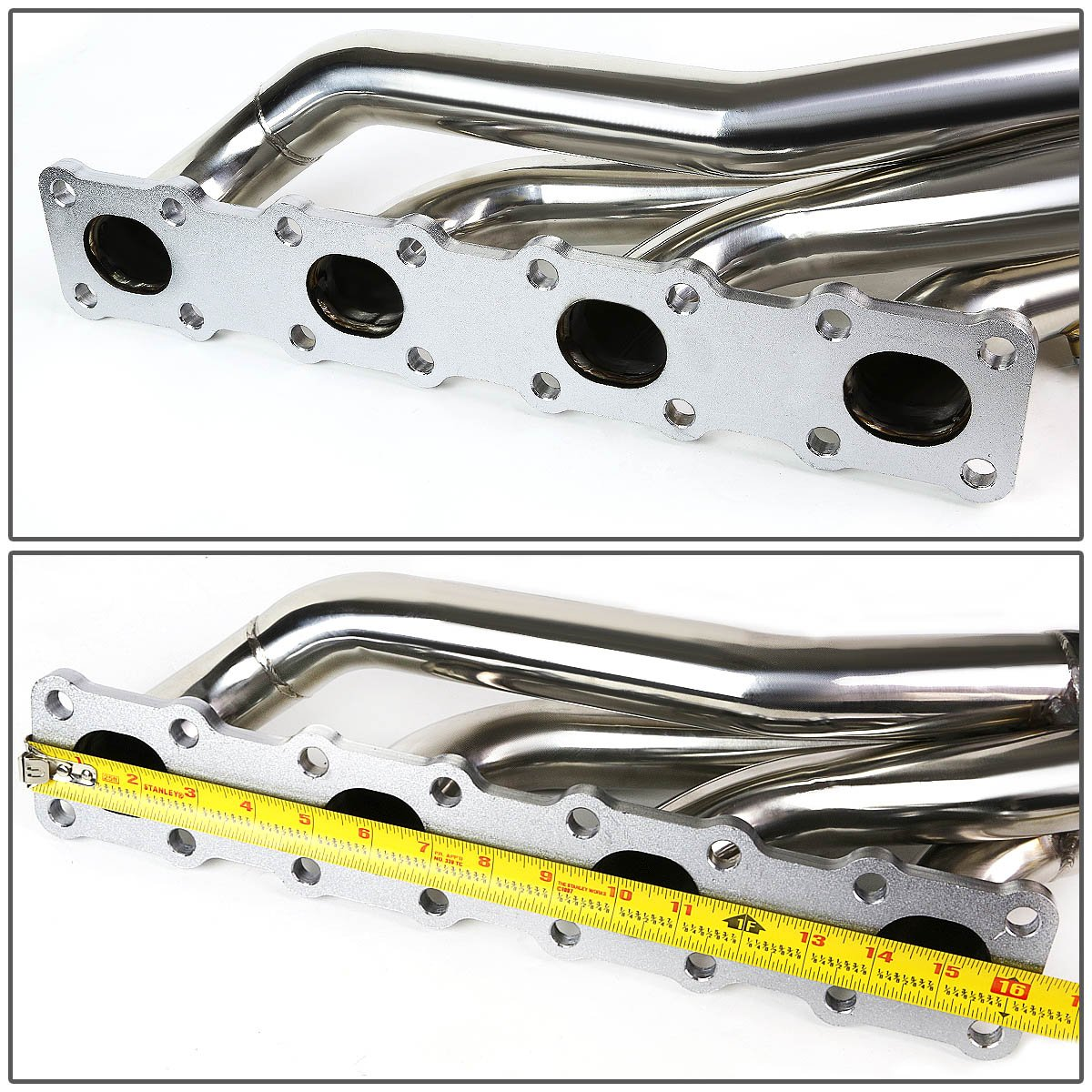 Amazon.com: For Nissan Titan A60 / Armada WA60 Stainless Steel Long Tube  Racing Exhaust Header: Automotive