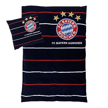 Fc Bayern München Bettwäsche Streifen Bettwäschegarnituren Bettwäsche