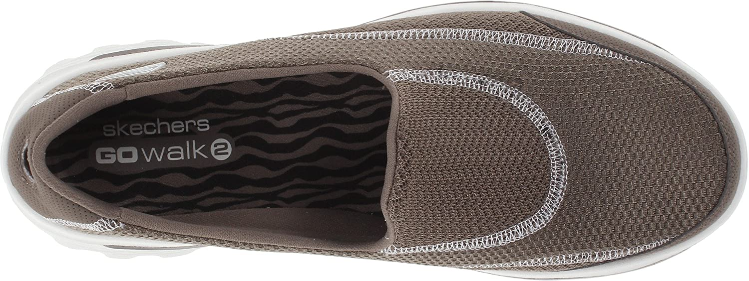 Skechers Performance Women's Go Walk 2 Slip-On Walking Shoe B00E9CCJP4 6.5 M US|Taupe