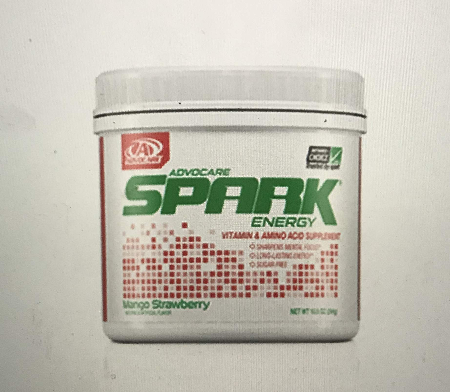 Advocare Mango Strawberry Spark Canister by AdvoCare (Image #1)