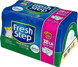 Fresh Step Arena perfumada Poder de Febreze, Arena para Gatos ...