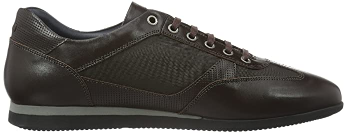Hernas Sneaker Calf/Nylon/Print Calf, Mens Low-Top Sneakers Joop