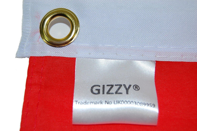 GIZZY/® Christmas Moon 5 x 3 flag