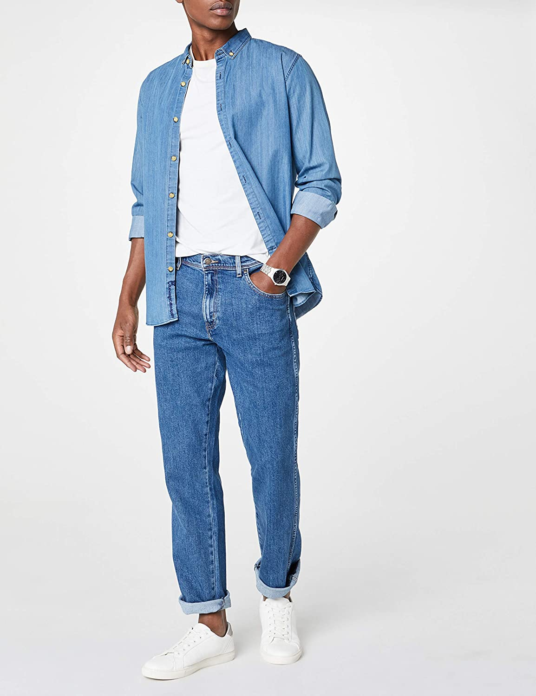 Wrangler Herren Regular Fit' Jeans Jeans Jeans B00B9199HY Jeanshosen Fein wild b98576