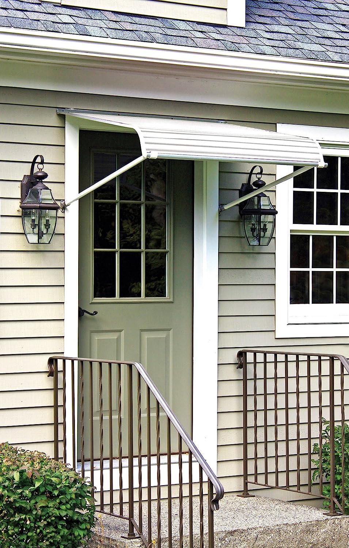 Amazon 1100 series aluminum door canopy with support arms amazon 1100 series aluminum door canopy with support arms garden outdoor rubansaba