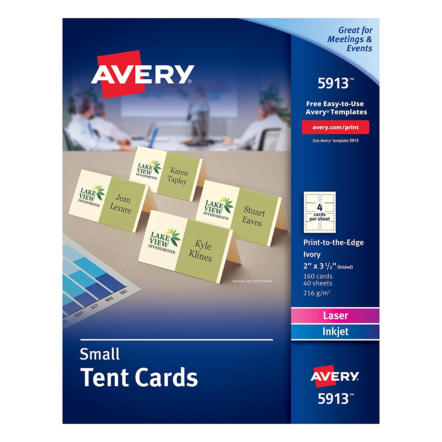 photograph about Printable Gold Card Application Harris County referred to as Avery Ivory Vacation spot Playing cards, Laser/Inkjet Printers, 1-7/16\